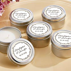 Personalized Travel Candle –The Hunt Is Over