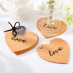 Heart Cork Coaster