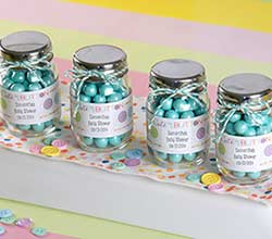 """Cute as a Button"" Personalized Mason Jar (Set of 12)"