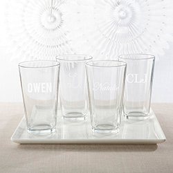 Personalized 16 oz. Pint Glass - Engraved