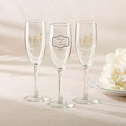 Personalized Champagne Flute - Classic