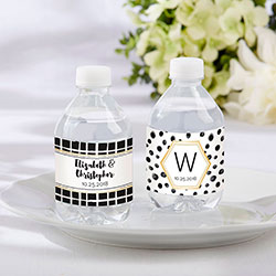 Personalized Water Bottle Labels - Modern Classic