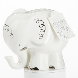 Little Peanut Elephant Porcelain Bank